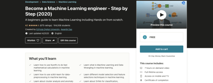 Become a Machine Learning engineer - Step by Step (2020)