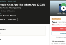 Android Studio Chat App like WhatsApp (2021)