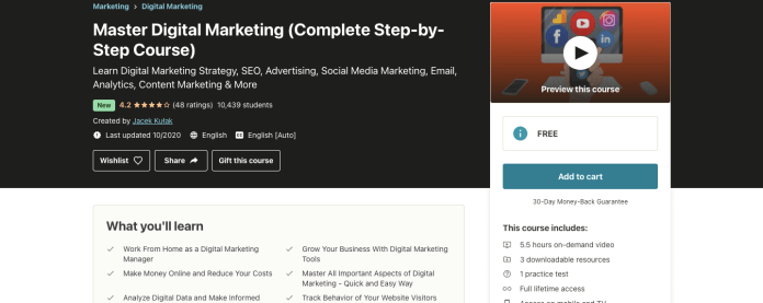 Master Digital Marketing (Complete Step-by-Step Course)
