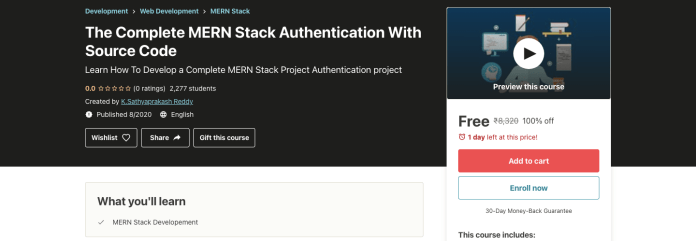 The Complete MERN Stack Authentication With Source Code