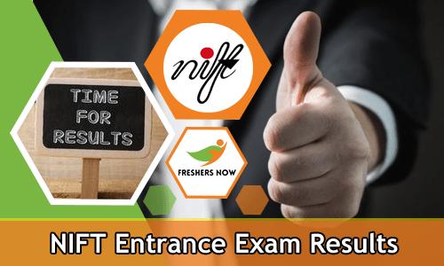 एनआईएफटी प्रवेश परीक्षा परिणाम