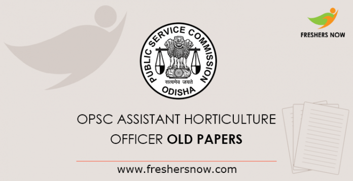 OPSC Asst Horticulture Officer Previous Year Question