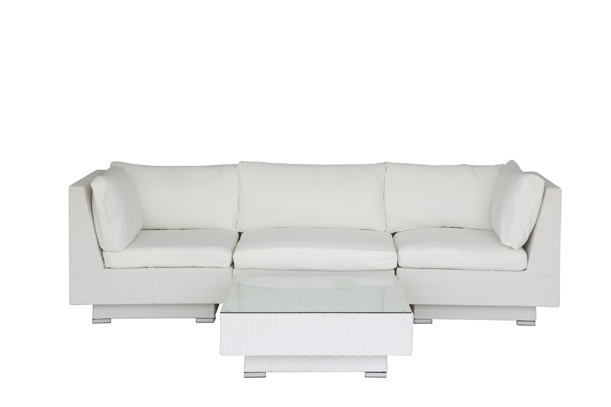 white rattan outdoor sofa best leather recliner reviews set fresh event hire