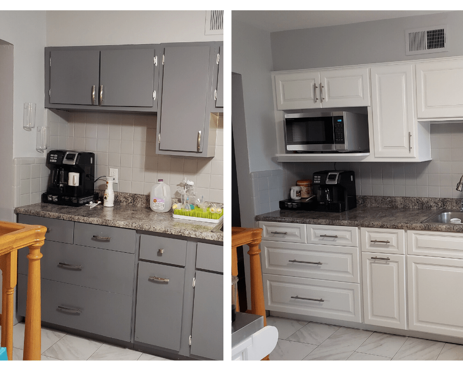partial cabinet replacement
