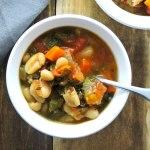 White Bean and Kale Detox Soup