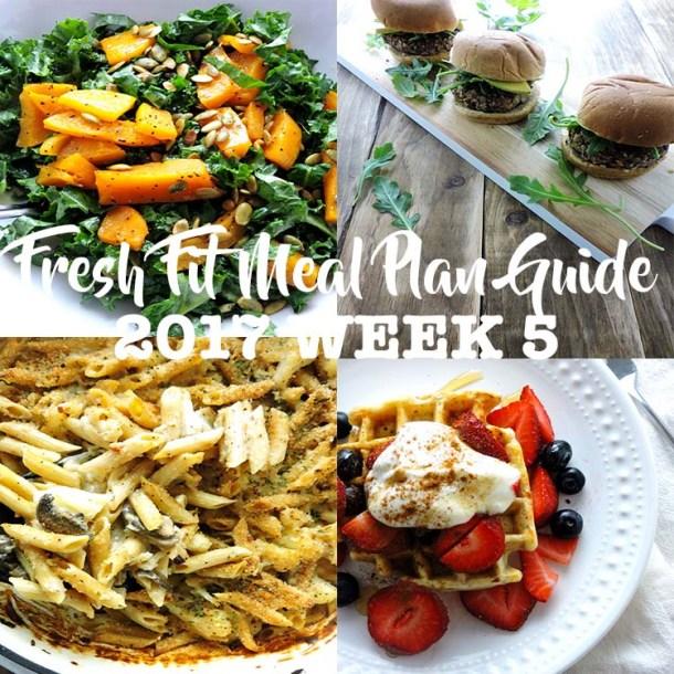 Fresh Fit Meal Plan Guide Week 5