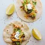 3 Ingredient Instant Pot Chicken Tacos