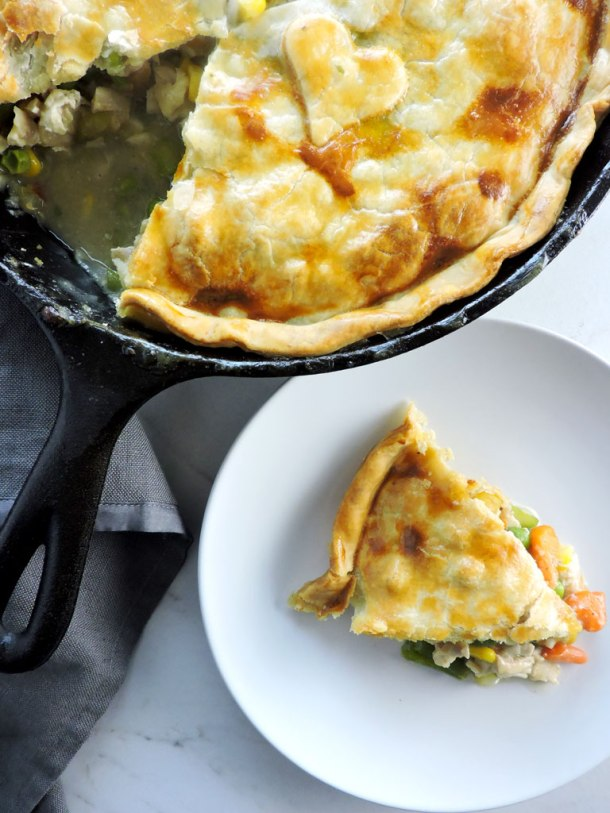 Weeknight Worthy Chicken Pot Pie