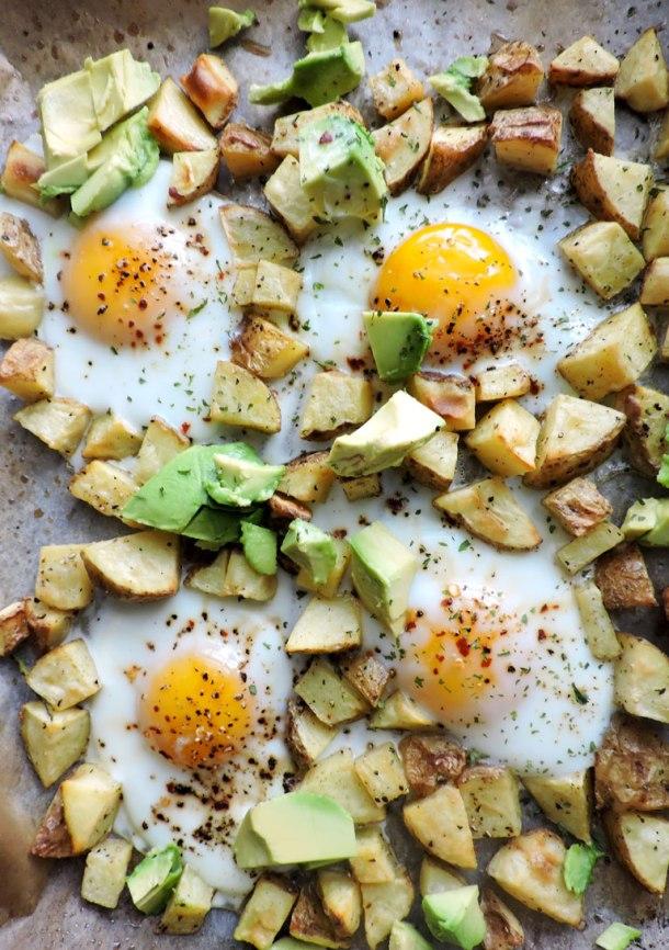 Egg and Potato Sheet Pan Breakfast