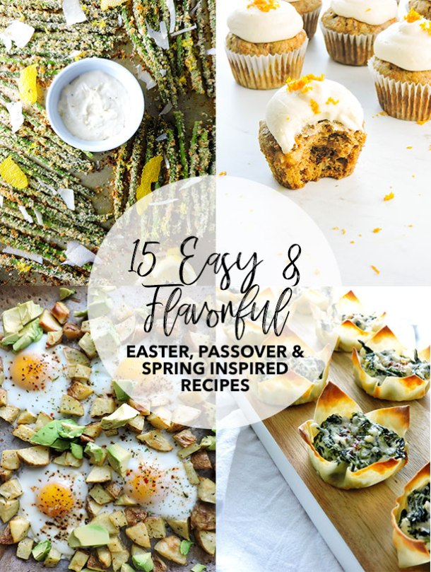 Easter and Passover Meal Idea Round Up