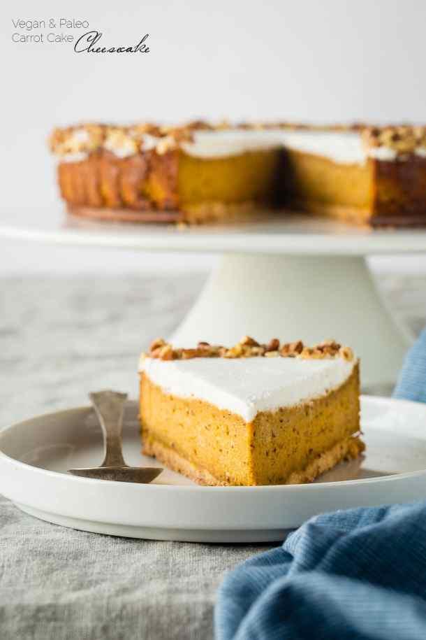 Gluten Free Carrot Cake Cheesecake