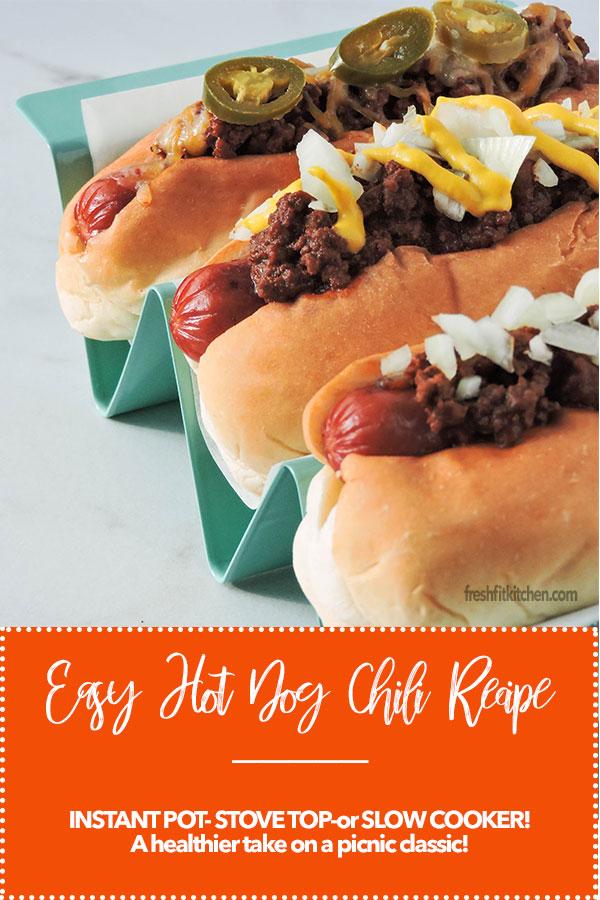 Easy Hot Dog Chili Recipe Fresh Fit Kitchen