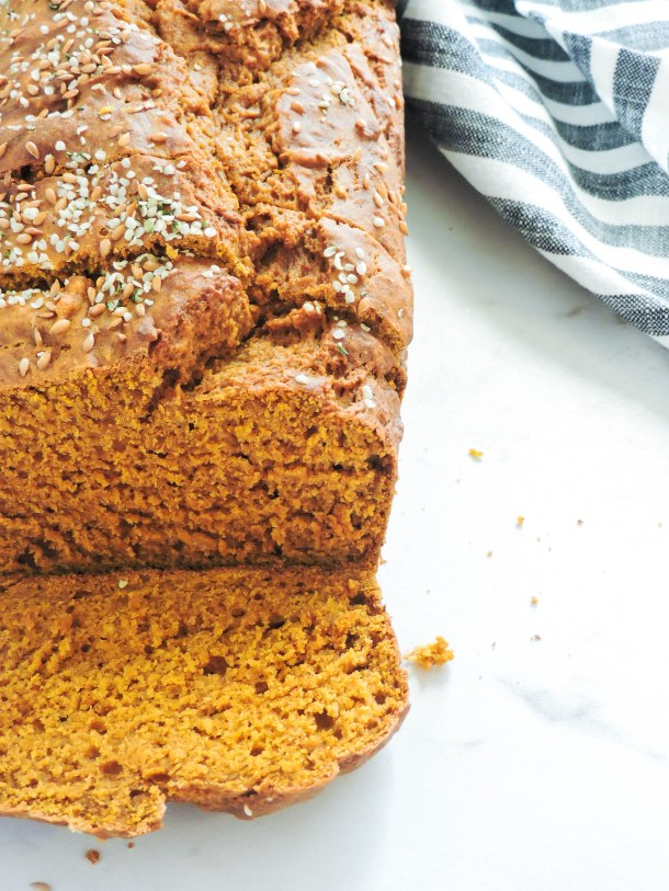 Copycat Starbucks One Bowl Pumpkin Bread