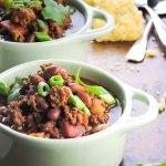 Super Easy 5 Ingredient Chili