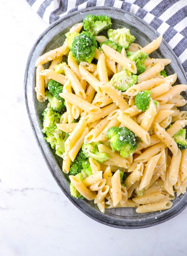 Lemon Broccoli Pasta Salad
