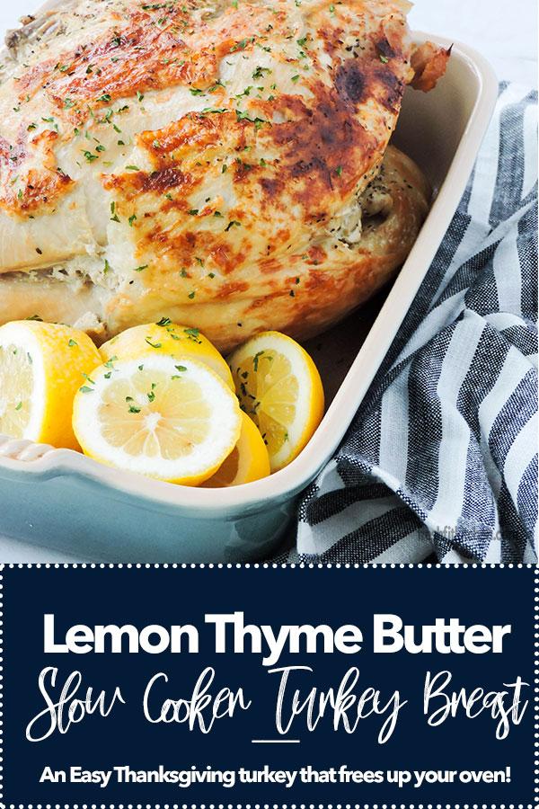 Lemon Thyme Butter Turkey Breast