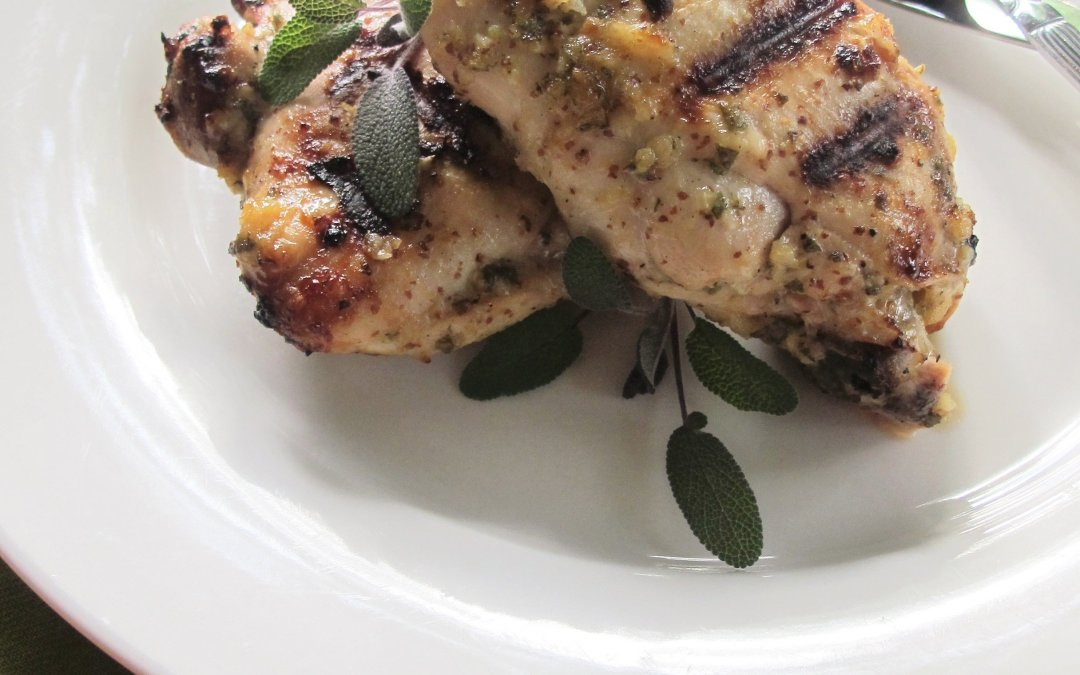 Garlic-Sage Grilled Chicken