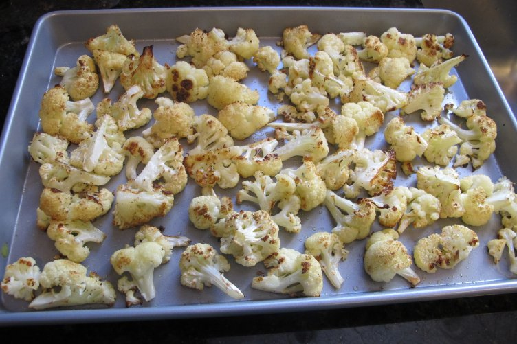 You'll never push away cauliflower again if you make this Roasted Cauliflower. It's kid- and husband-approved, which makes it a hit at my house.
