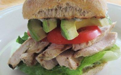 Grilled Turkey Avocado Sandwiches