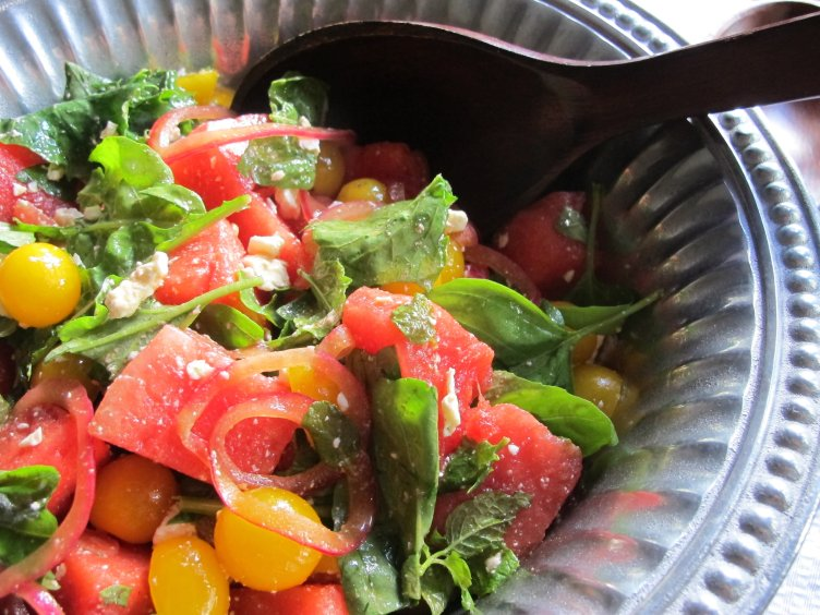 This Tomato-Watermelon Caprese Salad is fresh, light, nutritious, and oh so flavorful! It will brighten up any meal with a colorful burst of ingredients.