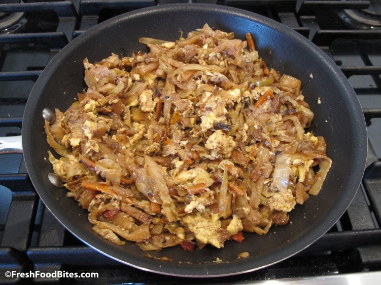 Substitute this healthy, veggie-packed Chinese Fried Cabbage for traditional Chinese Fried Rice, for a quick, simple and nutritious meal.