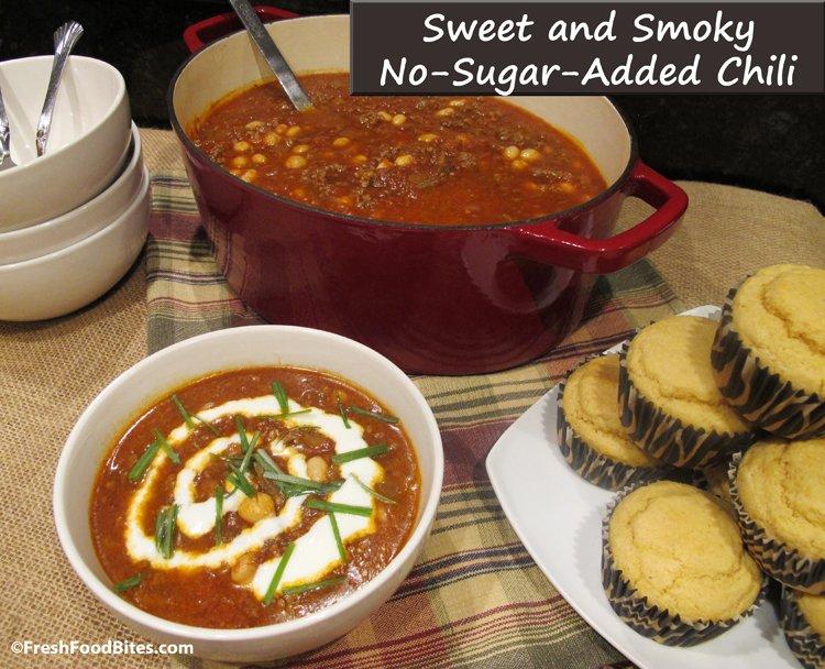 Sweet and Smoky No-Sugar-Added Chili