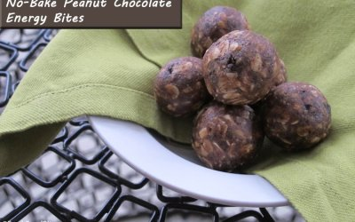 No-Bake Peanut Chocolate Energy Bites