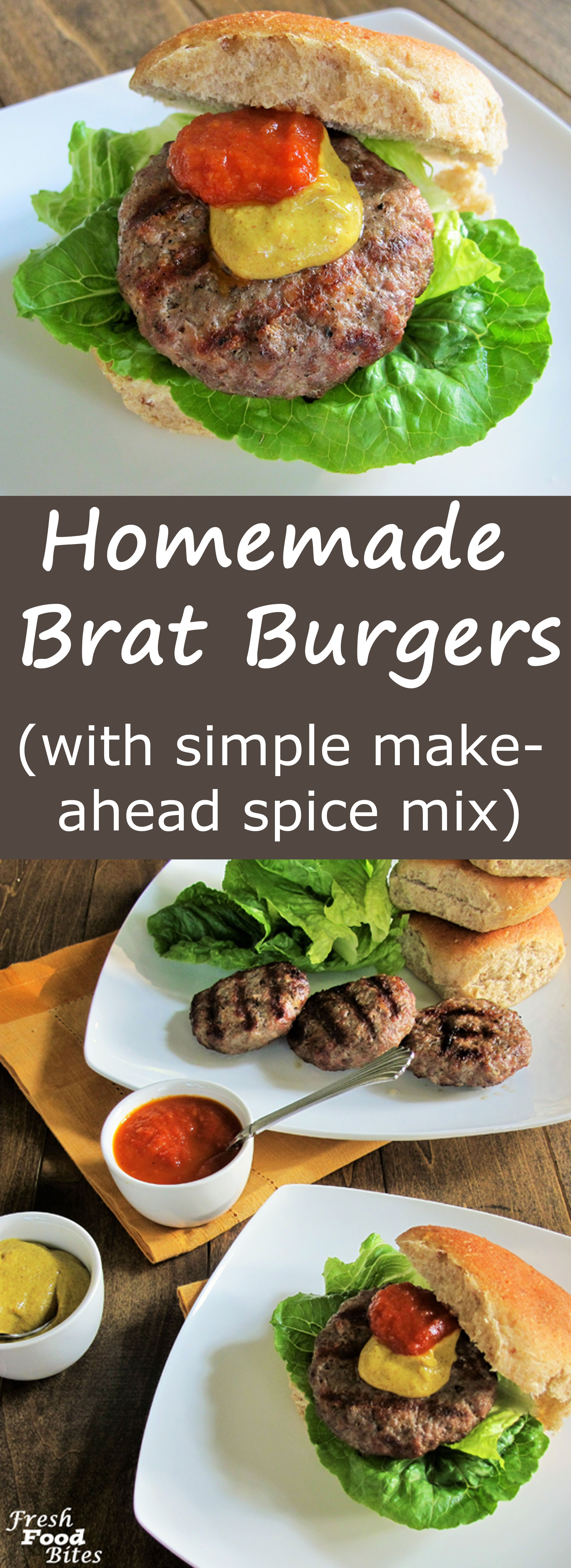Love brats, but want a healthier version you can pronounce all the ingredients for?