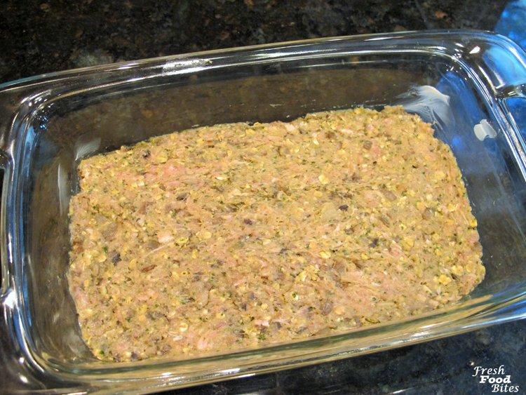 Quick and easy Italian Pesto Turkey-Mushroom Meatloaf is a kid ...