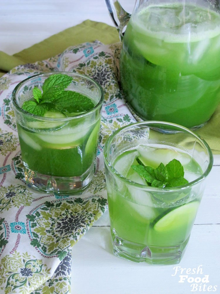 Try this refreshing Spicy Cucumber Cocktail next time you need an icy adult beverage. Perfect for any summer gathering, whether it's a wedding shower, retirement party, birthday party, or simply a backyard barbecue, your guests will love the unique combination of refreshing cucumber with a spicy kick from the habanero pepper.