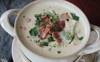 Dairy Free Creamy Potato Vegetable Soup
