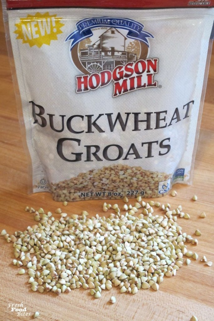 Buckwheat groats are what add so much crunch to this Crunchy Nut Free Granola Recipe. They can be eaten raw, but really shine when they are lightly toasted like they are in this granola.