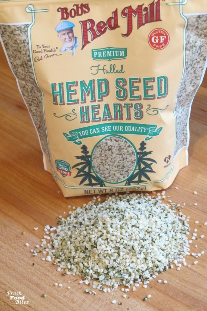 Hemp seeds are loaded with fiber and protein, making them a perfect addition to this Crunchy Nut Free Granola Recipe.
