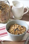 Think you can't make a crunchy granola without adding nuts? With this Crunchy Nut Free Granola Recipe, your prayers are answered. It's crunchy, lightly sweetened, and has all the nutritional goodness you want in a granola. The best part is it's super quick and easy to make!