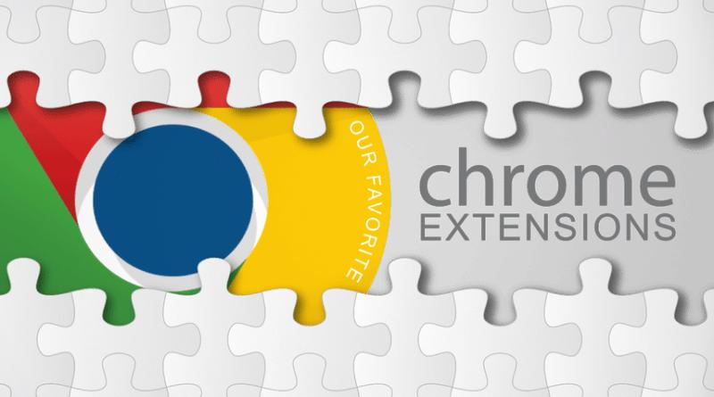 google chrome externsions