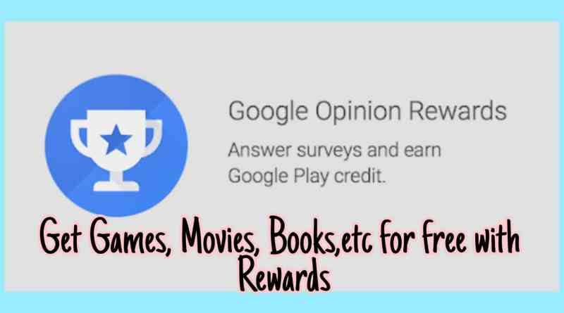 google rewards app banner