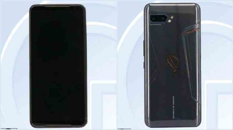 ROG Phone 2 front and back