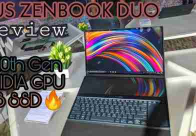 Asus zenbook duo with i7 10th generation intel processor nvidia graphic card 1tb ssd storage dual screen review