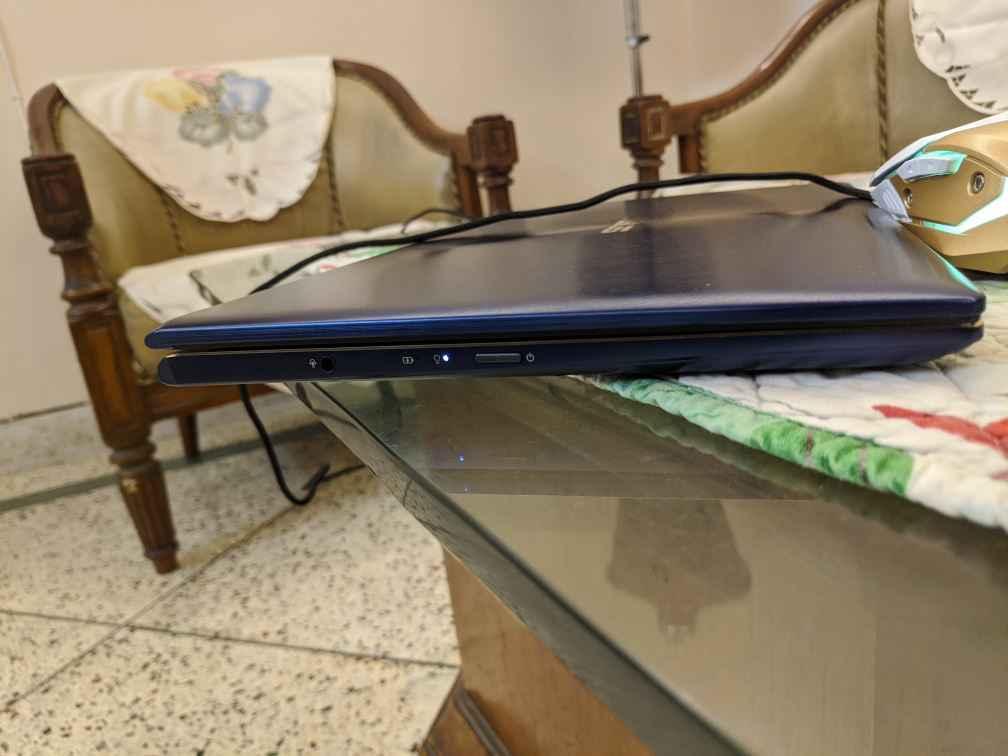 asus zenbook flip 13 ports option left side