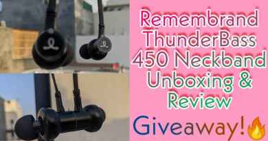 remembrand thunderbass 450 unboxing, review and giveaway