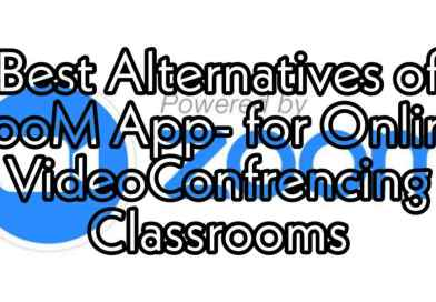 what are the best alternatives of zoom app and alternatives for online videoconferencing classrooms at time of coronavirus