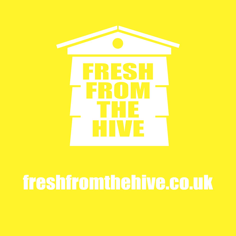 yellow fresh from the hive logo