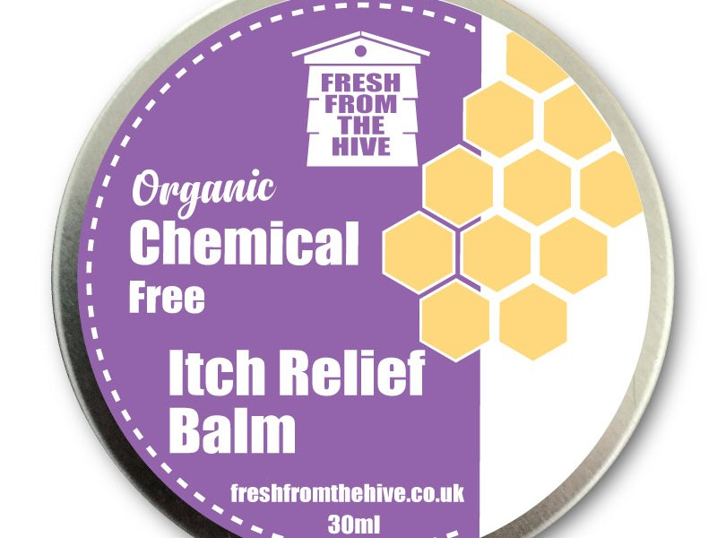 organic Itch relief balm