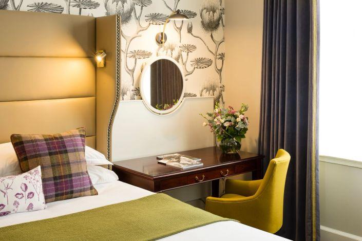Bespoke interiors at Baileys hotel