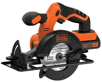 BLACK+DECKER BDCCS20C Cordless Circular Saw