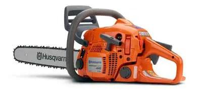 Husqvarna 440e chainsaw Review
