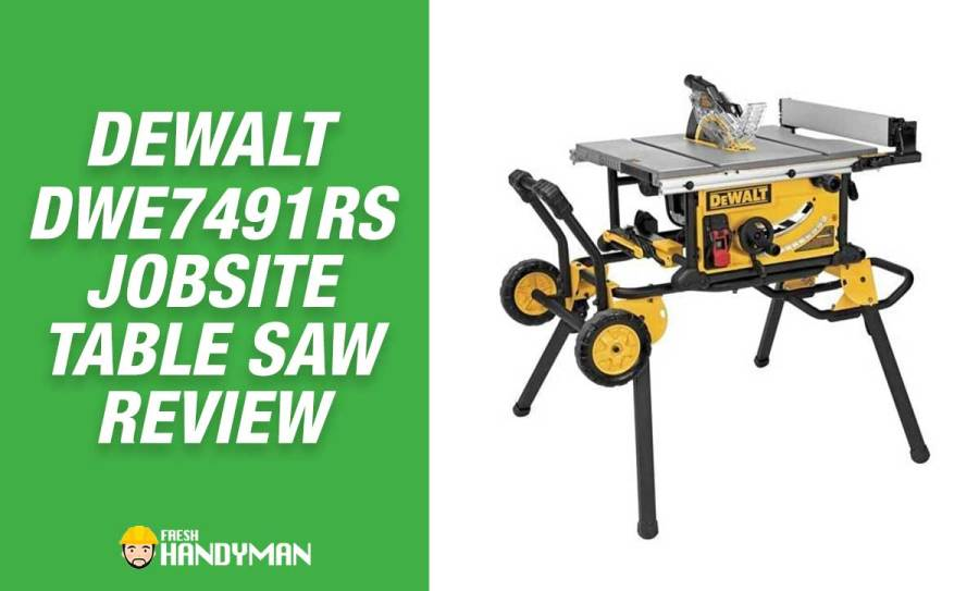 Dewalt DWE7491RS Review – Portable Jobsite Table Saw