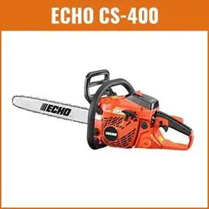 Echo CS 400 Chainsaw