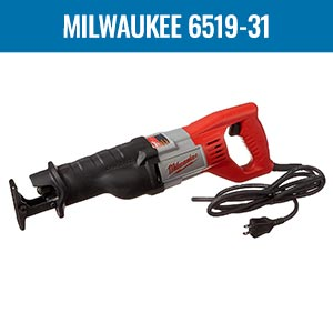 Milwaukee 6519-31 Corded Reciprocating Sawzall