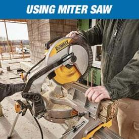 miter saw uses